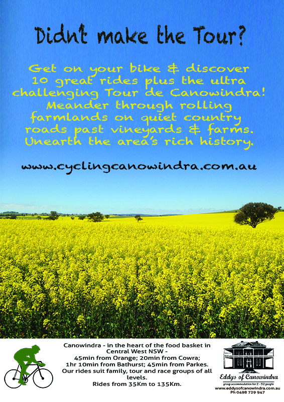 Cycling Canowindra Poster